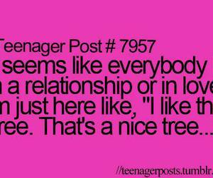 tree, funny, and quote image