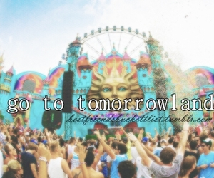 best friends and Tomorrowland image