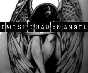 angel, Lyrics, and nightwish image