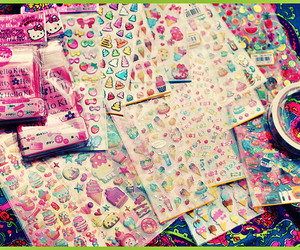 sticker, sweet, and cute image