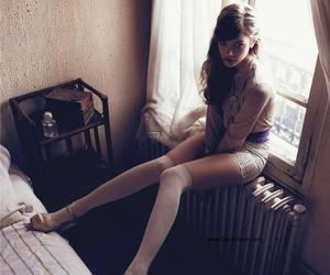 model, barbara palvin, and window image