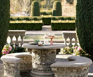 garden, luxury, and flowers image
