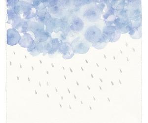 art and rain image
