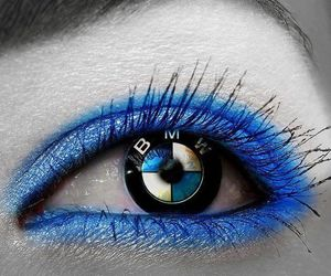 blue, bmw, and bmw girl image