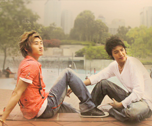 asian boy, boy, and donghae image