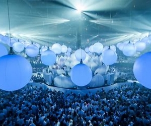 music, sensation, and party image