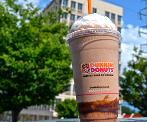 dunkin donuts, drink, and yum image