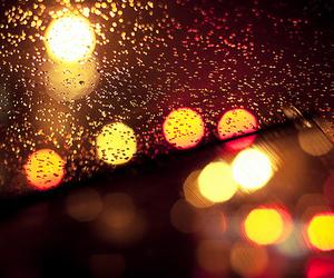 lights and rain image