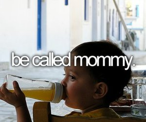 baby, before i die, and mommy image