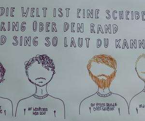 fanart, german, and Lyrics image