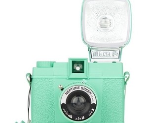 camera, green, and mint image
