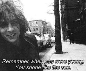 Pink Floyd, syd barrett, and black and white image