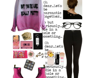 fashion, good girls, and Polyvore image