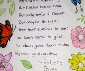 poem, Ponyboy Curtis, and robert frost image