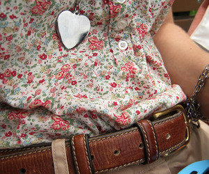 fashion, heart, and floral image