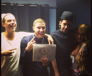mike posner, song, and t. mills image