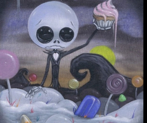 candy, creepy, and sweet image