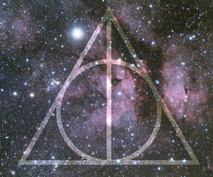 harry potter, triangle, and hipster image