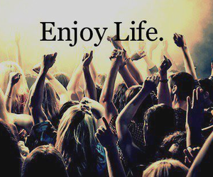 life, enjoy, and party image