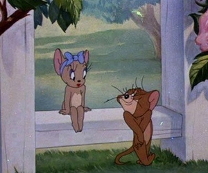 cartoon, mice, and tom & jerry image