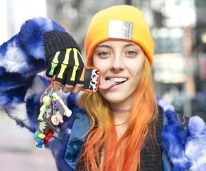 hair, chloe norgaard, and model image