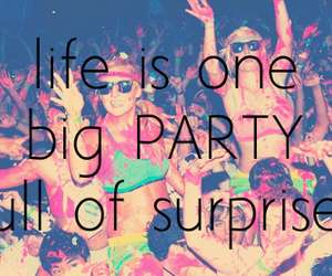 party and life image