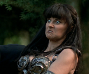 old, wtf?, and xena image