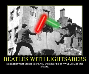 awesome and the beatles image