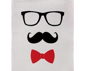 mustache and glasses image