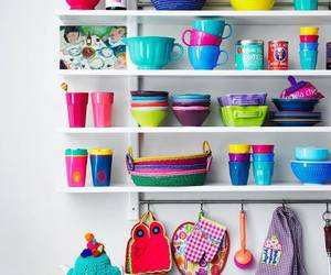 kitchen and colorful image
