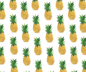pineapple, transparent, and fruit image