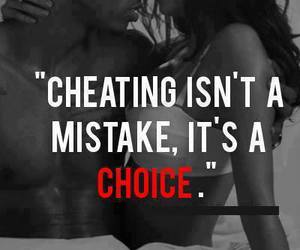cheating, choice, and mistakes image