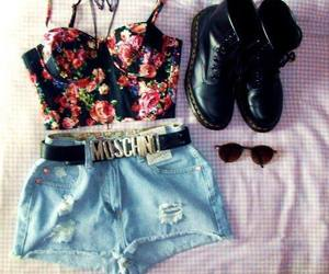 fashion, outfit, and Moschino image
