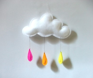 cloud, felt, and mobile image