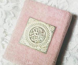 book, islam, and pink image
