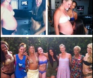 Hot, pregnant, and heather morris image