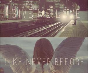 love, ed sheeran, and give me love image
