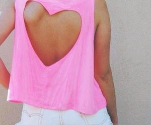 fashion, heart, and pink image