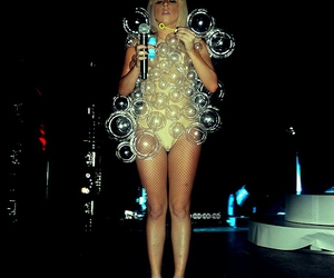 bubbles, concert, and fashion image