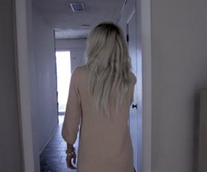 blonde, girl, and platinum image