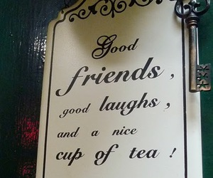 tea, wisdom, and friends image