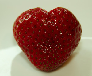 berries, food, and heart image