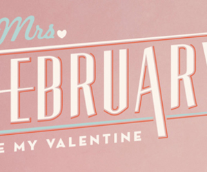 february, valentine, and be my valentine image