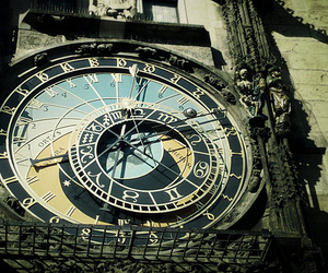 astrology, astronomy, and clock image