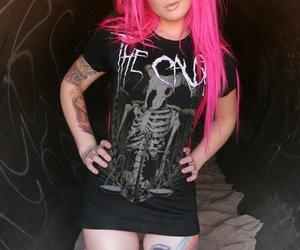 alternative, model alternative, and girl tattoo image