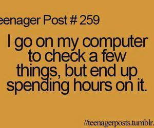 teenager post, true, and text image