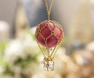 necklace, jewelry, and pink image