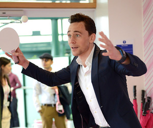 tom hiddleston, funny, and cute image