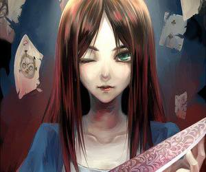 alice, alice liddell, and madness image