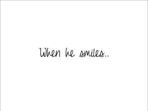 his smile quotes tumblr - Google Search on We Heart It